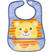 Babador com bolso leão Buba -
