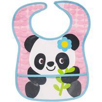 Babador com bolso panda Buba -