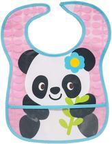 Babador com Bolso - Panda - Buba -