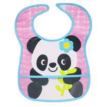 Babador com Bolso Panda - Buba -
