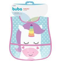 Babador com bolso unicornio - buba -