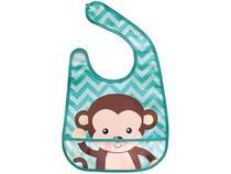 Babador Impermeável com Bolso Buba Animal Fun - Macaco