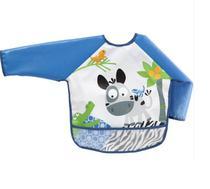 Babador Infantil Com Mangas Azul Buba 10651 -