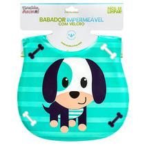 Babador Para Bebês Impermeável Turminha Animal Cachorro Unik - Uniq Baby