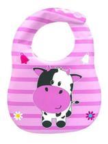 Babador Para Bebês Impermeável Turminha Animal Unik Toys -