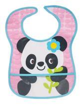 Babadores Com Bolso Panda Menina -BUBA -