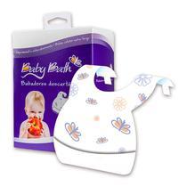 Babadores Descartáveis Baby Bath - 24 Unidades -