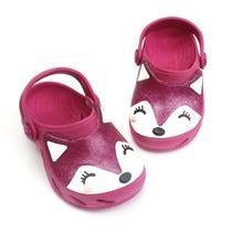 Babuche plugt ventor baby pink raposinha 304011248 -