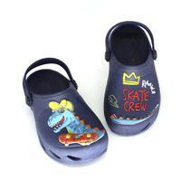 Babuche Plugt Ventor Kids Dino Skate Marinho -