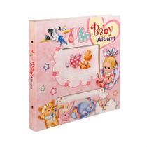 Baby Álbum 100 fotos 10x15 Capa Dura Janela Personalizável - Yes