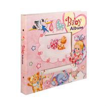Baby Álbum 80 fotos 10x15 Capa Dura Janela Personalizável - Paperhome