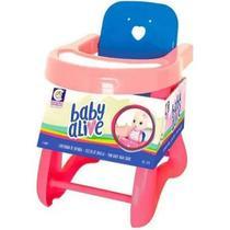 Baby Alive Cadeirão Pequeno - 2477 - Cotiplás - Cotiplas