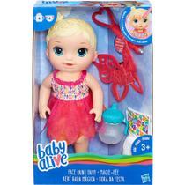 Baby Alive Hora da Festa Loira Boneca e Acessórios Hasbro -