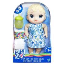 Baby alive hora do xixi loira -