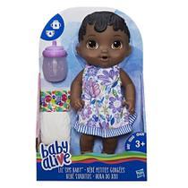 Baby Alive Hora do Xixi Negra - E0308 - Hasbro -