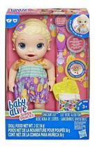 Baby alive lanchinhos divertidos loira e5841 - Hasbro -