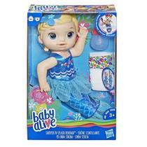 Baby Alive Linda Sereia Loira  E3693 - Hasbro -
