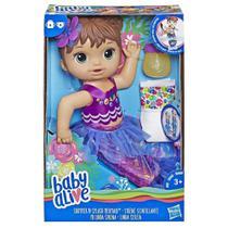 Baby Alive Linda Sereia Morena E3691 - Hasbro -