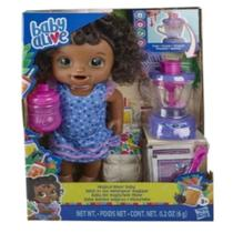 Baby Alive Misturinha Vitamina Diversão Negra - Hasbro E694 -