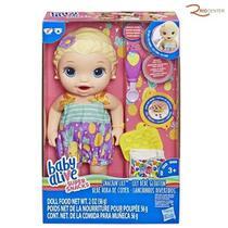 Baby Alive Super Lanchinhos Divertidos Loira Hasbro -