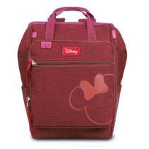 Baby Bag G Mochila Térmica Maternidade Minnie c/ Trocador Disney -