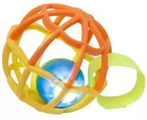 Baby Ball Luz e Som Amarelo e Laranja 5848 Buba -