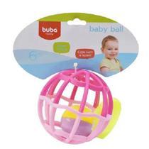 Baby Ball Luz e Som Rosa 5848 Buba -