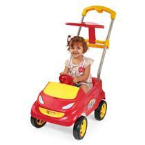 Baby Car Carro Passeio Vermelho Com Acessórios - Homeplay -