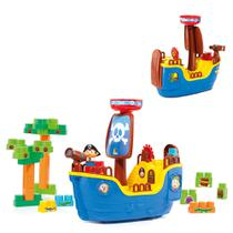Baby Land Navio Pirata Blocos de Montar - Cardoso CAR-113