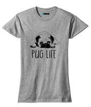 Baby Look Feminina Pug Life Cachorro Fofo - LOJA BOBKIN