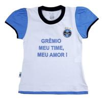 Baby Look Infantil Grêmio Oficial - Revedor