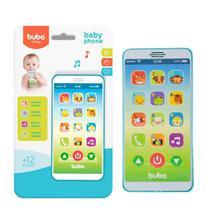 Baby Phone Telefone Bebê Celular Musical - Buba -