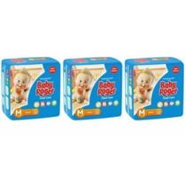 Baby Roger Ideal Fralda Infantil M C/20 (Kit C/03)