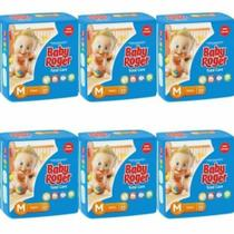 Baby Roger Ideal Fralda Infantil M C/20 (Kit C/06)