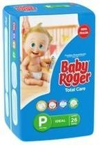 Baby Roger Ideal Fralda Infantil P C/26 (Kit C/03)