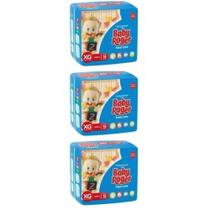 Baby Roger Ideal Fralda Infantil Xg C/16 (Kit C/03)