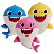 Baby Shark Bebe Tubarão Pelucia Antialergico - Wu