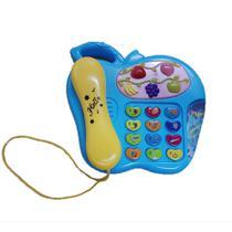 Baby telefone musical com som e luz - Yaha