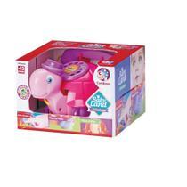 Baby Teltaluga telefone Cardoso rosa e lilas -