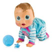 Baby Wow Boneca Que Engatinha E Fala - Multikids -