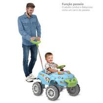 BabyCross Passeio e Pedal Azul - Bandeirante - Brinquedos Bandeirante