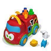 Babyland Dino Bombeirinho Educativo - Cardoso Toys