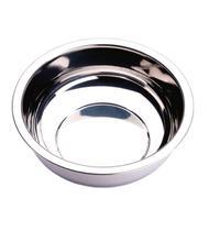 Bacia Bowl Tigela Redonda em Aço Inox 10l Resistente Zanella -