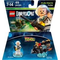 Back To The Future Doc Brown Fun Pack - Lego Dimensions - Warner Bros