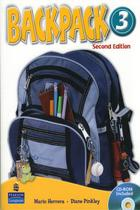 Backpack 3 class audio cd(2) 2nd ed - Pearson audio visual -