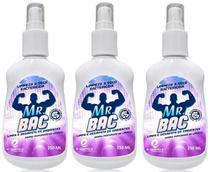 Bactericida Germicida Desinfetante Odorizador 3x250ml Spray - Equimica