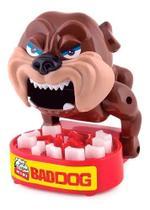Bad Dog Mini Cuidado ao Apertar Jogo Divertido Polibrinq -