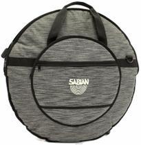 Bag de Pratos Sabian Classic Heathered Gray C24HBK Alto Luxo Compatível com Pratos até 24 -