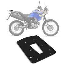 Bagageiro Base Específica Monolock Givi Moto Tenere 250 2016 Rack Suporte Bauleto Aço Preto SR2125 -