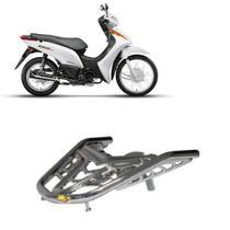 Bagageiro Biz 110 2018 2019 2020 Cromado - Ma Motos